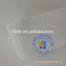 semi glossy blank thermal coated paper adhesive shipping packaging label