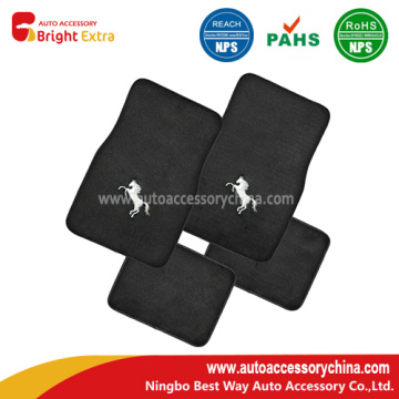 Bordado Horse Quality Carpet Vehicle Floor Mats