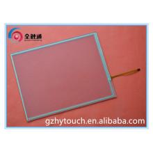 Bajo precio y personalización Panel de pantalla táctil resistente de 4 hilos