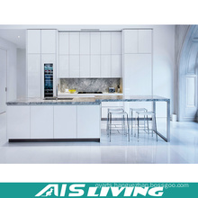 White Lacquer with Quartz Kitchen Cupboards Furniture (AIS-K348)