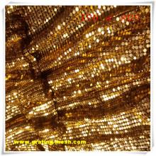 Malla de alambre decorativa / malla de cortina de metal con precio barato