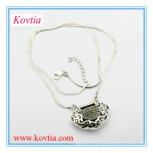 Fashion Freundschaft 925 Sterling Silber Halskette für Jungen