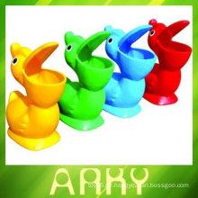 Kinder-Plastikspielzeug-Mülleimer für Kindergarten