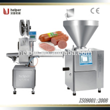 Máquina de recorte doble de salchicha / Máquina de recorte doble mecánica de doble pared