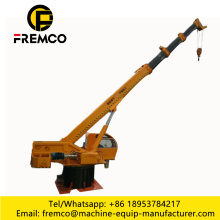Mini Hydraulic Boat / Ship Marine Deck Crane