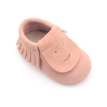 Grappige Suede Baby Moccasins