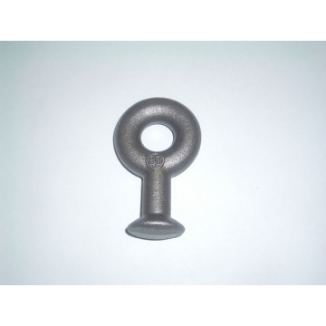 Eye Oval Insulator Ductile Iron Electric Power Fittings