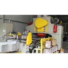 Línea de producción de fabricación de cubos cónicos de alta velocidad para envasado de latas de productos químicos