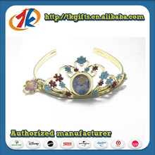 Fashion Plastic Crown Molding with Rings for Girls