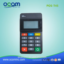 POS-T45-Mini wireless pos numeric keypad with card reader