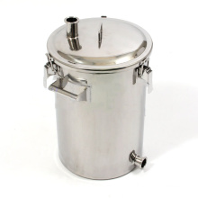 Нержавеющая сталь Главная пивоваренный чайник с ручкой
