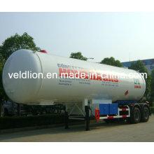 Neuer Entwurfs-Qualität 56cbm LPG Behälter-LKW-Anhänger