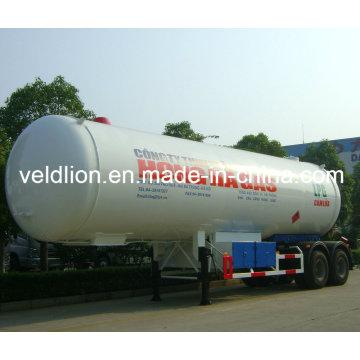Nuevo diseño de alta calidad 56cbm LPG camión cisterna