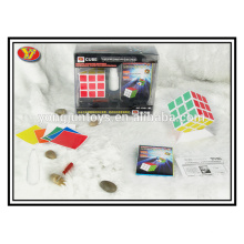 Promotional gifts Plastic YongJun magic speed cube with lube screwdriver and cube holder