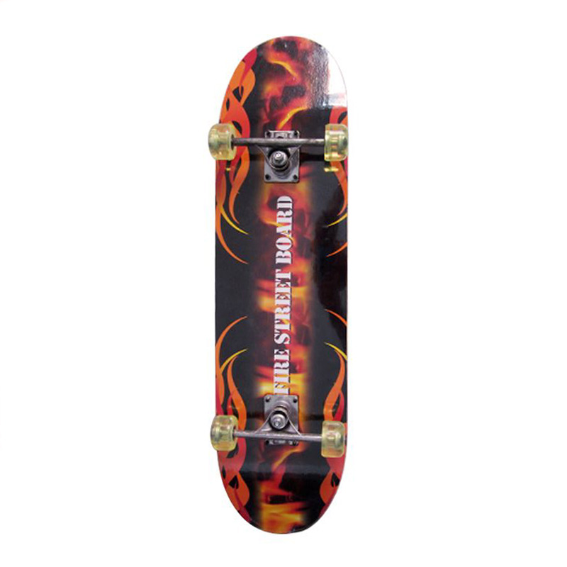 Double Kick Flat Skateboard