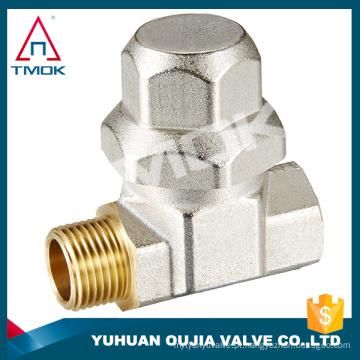 """Filtro de latão Y filtro 2 """"corpo de latão com polimento e porta cheia e PN 40 máquina elétrica de alta temperatura com 600 wog"""