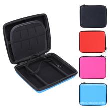 Hartes EVA-Speicher-Zip-Kasten-schützende Halter-Tasche für Nintendo 2DS Konsole Farbe tragen Handgriff-Speicherraum für Karten Kopfhörer