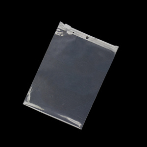 Clothes Packaging Clear Plastic Zip Lock Bag