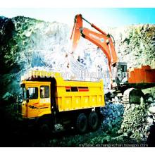 Camión volquete de la mina de 6x4 Shacman / camión volquete de la mina de shannqi / camión volquete de la mina de shanqi / camión volquete de la explotación minera / carro de volquete de la mina