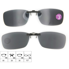 2015 Classic Clip on Sunglasses with Case (Shape 2)