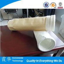 China Top Ten de venta de productos aguja de fieltro filtros de bolsa de polvo de cemento