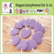 2015 Hot Vending Lavender Heart Ornaments