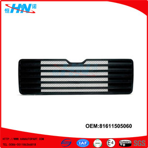Black ABS Grille 81611505060 Man F2000 Parts