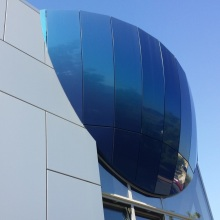 Outdoor Mirror Aluminium Composite Panels