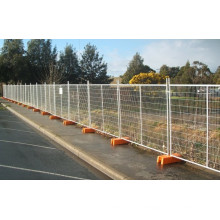 Temporary Fence Used for Crowd Control Barrier