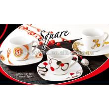 Керамическая кружка глиняная посуда из керамики фарфор SGS CE / EU CIQ EEC керамическая чашка для кофе