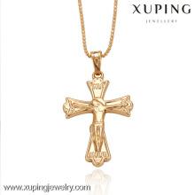 32181-Xuping venda quente imitação jóias cruz pingentes de promoção