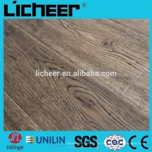 Поверхность EIR Ламинированные напольные покрытия изготовители фарфора подражали внутреннему деревянному настилу / легко нажимают ламинированный пол
