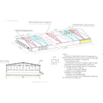 Pre-Engineered Structure Chicken House (SSW-14345)