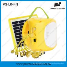 Portable Lithium-Batterie LED Solar Lampe mit Telefon aufladen