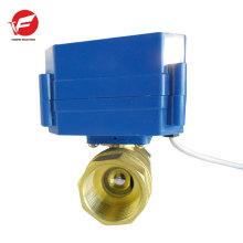 Válvula de bola del actuador de control eléctrico de mejor calidad