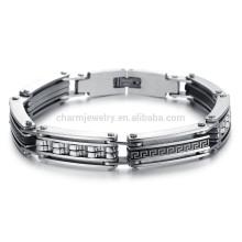 Американский ювелирный ювелирный творческий образец индивидуальности приток мужчин выйдет носить титановый стальной браслет GS733