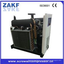 1.3m3 / min congelador de ar refrigerado máquina de pequena escala indústrias