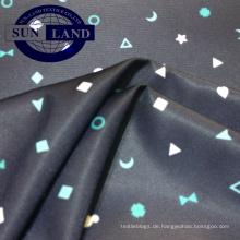 100 Polyester Karton Design Papier bedruckt FDY Interlock Stoff für Kindertuch