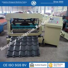 Carrete hidráulico de la teja de azulejo de la teja que forma la máquina