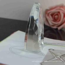 pendurando o cristal decorativo, bola de cristal para a casa ou as decorações do casamento