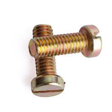 Farbe Zink geschlitzte Zylinderkopfschraube