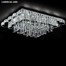 luxury big chandelier led crystal decorative lighting