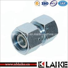 (3C) adaptateurs hydrauliques droits de tuyau de tube à haute pression