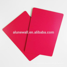 Indoor used decoration material aluminum composite panel for facade wall cladding