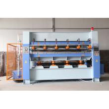 Machine à presser à chaud laminée à joint à bois