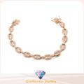 Hot Sale Woman′s Fashion 925 Silver Jewelry Bracelet (BT6600)
