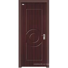 Puerta comercial de PVC MDF