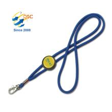 Custom Promotional Neck cheap Strap Satin ribbon Lanyard