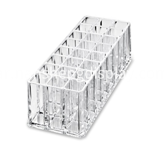 Acrylic Lip Gloss Makeup Organizer