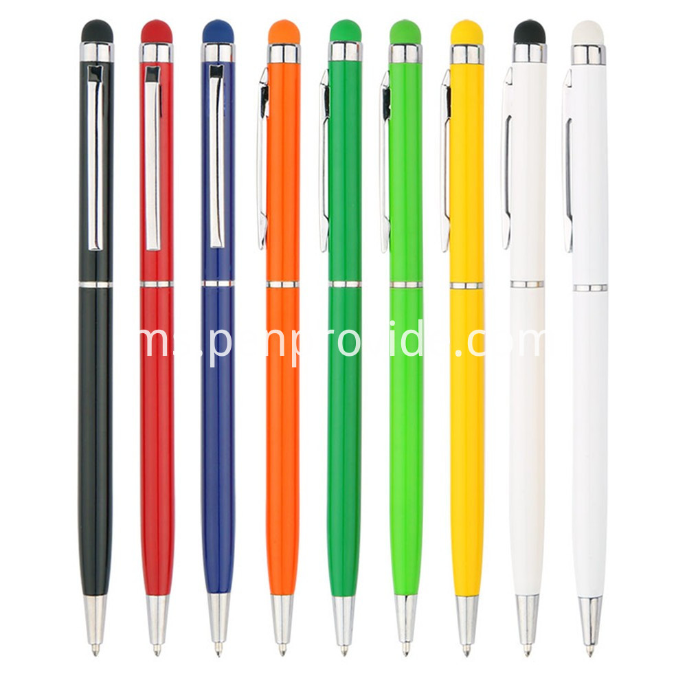 Promotion Ball Pen with Touch Screen Stylus